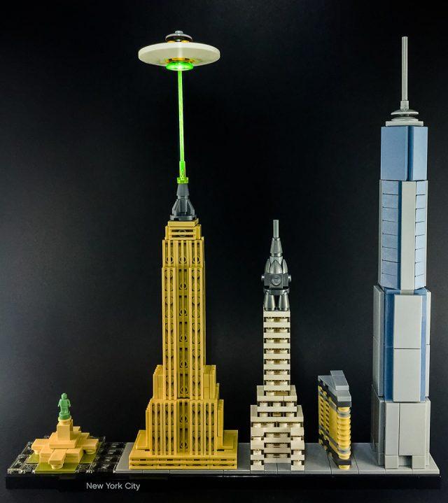 LEGO Aliens Invasion New York City