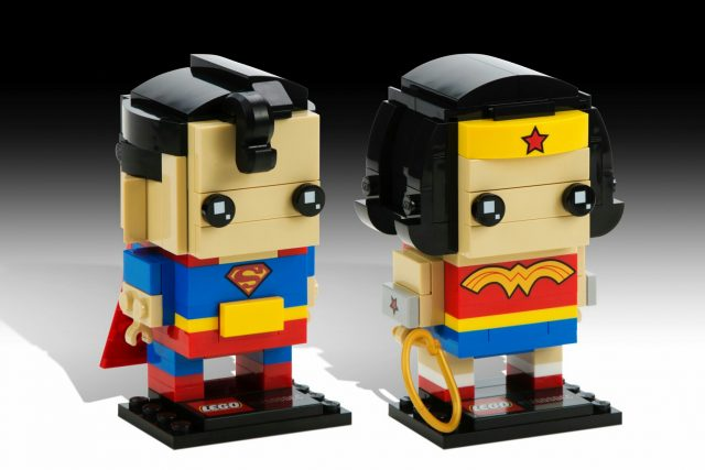 LEGO BrickHeadz DC Comics Superman & Wonder Woman
