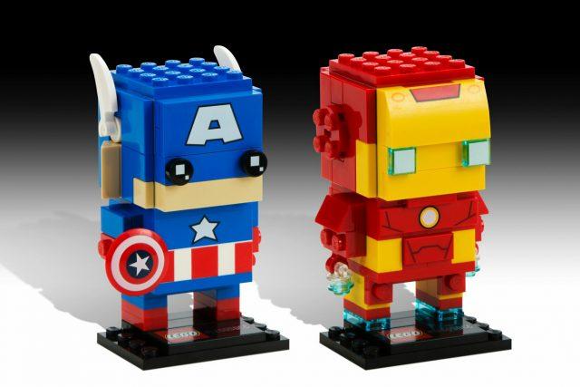 LEGO BrickHeadz Marvel Captain America & Iron Man