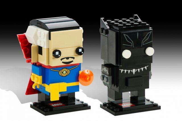 LEGO BrickHeadz Marvel Doctor Strange & Black Panther