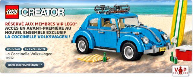 LEGO Creator Expert 10252 Volkswagen Beetle VIP