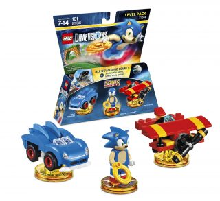LEGO Dimensions Level Pack 71244 Sonic The Hedgehog