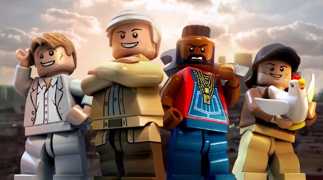 LEGO Dimensions The A-Team L'Agence Tous Risques