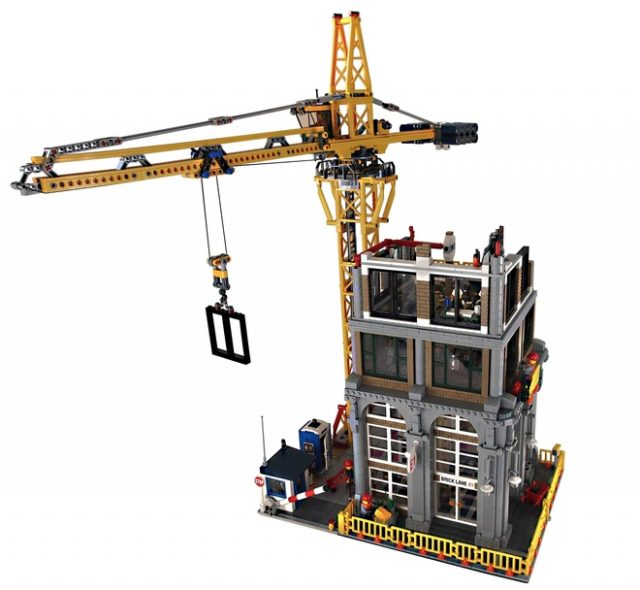 LEGO Ideas Modular Construction Site