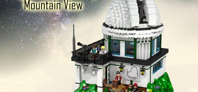 LEGO Ideas Observatoire LEGO Mountain View