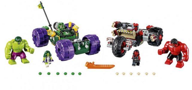 LEGO Marvel Hulk vs. Red Hulk