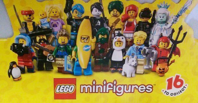LEGO Minifigs à collectionner série 16