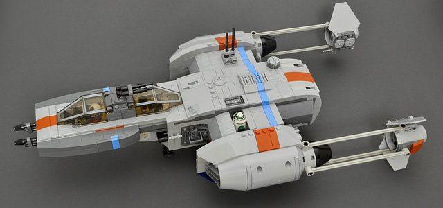 LEGO Star Wars Y-Wing upgraded