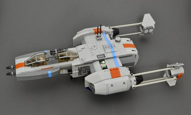 LEGO Star Wars Y-Wing upgraded