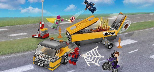 LEGO 76067 Tanker Truck Takedown : tous les visuels officiels