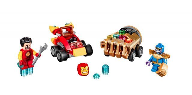 LEGO Super Heroes Mighty Micros Marvel 2017 Iron Man VS Thanos