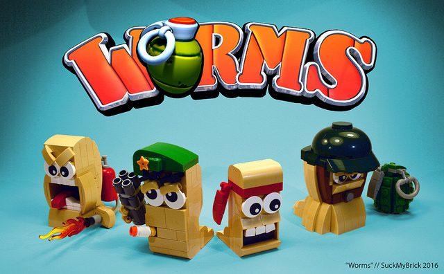 LEGO Worms