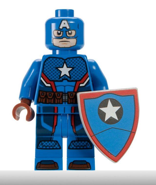 LEGO minifig Captain America SDCC 2016