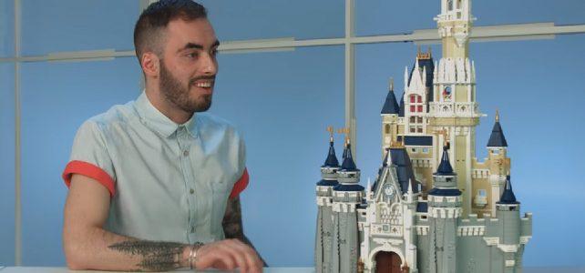 Marcos Bessa LEGO designer 71040 Disney Castle