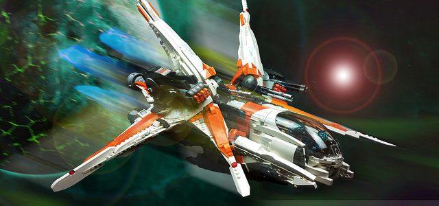 Merkaba Gunship, le 'petit' starfighter du dimanche