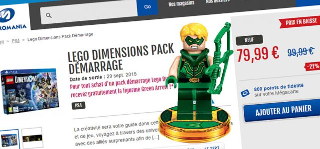 Micromania LEGO 71342 Green Arrow