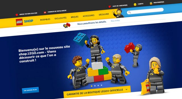 Nouveau Shop@Home Boutique officielle LEGO