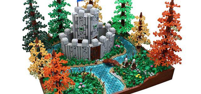 Nouvelle technique LEGO Castle