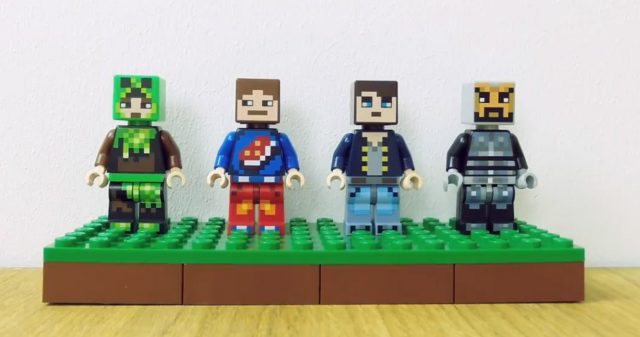 Skin packs de minifigs LEGO Minecraft 853609