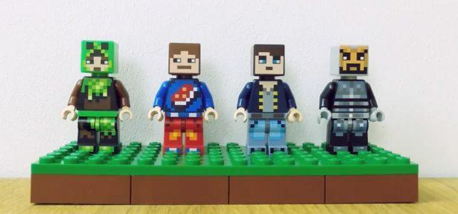 Packs de minifigs LEGO Minecraft 853609