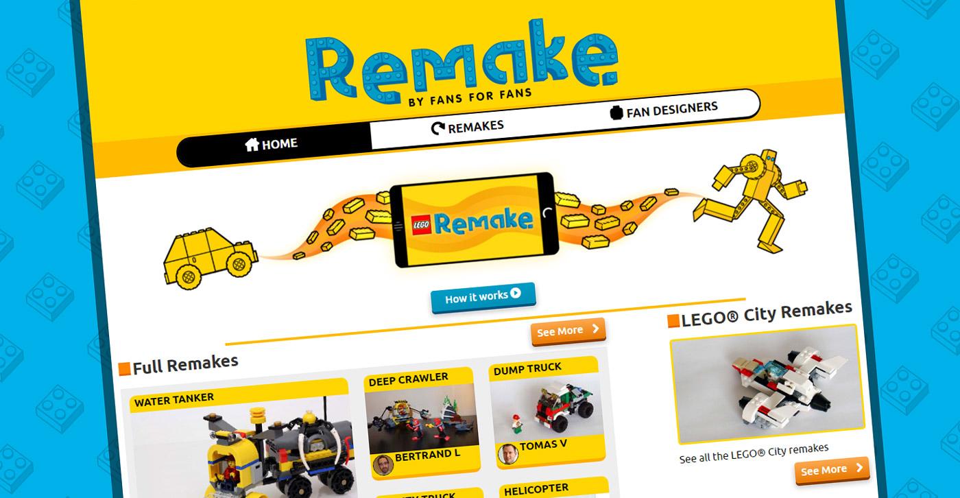 Lego Remake Des Notices De Modeles Alternatifs Aux Sets Officiels Hellobricks