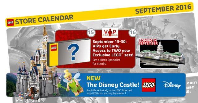 Store Calendar Septembre 2016