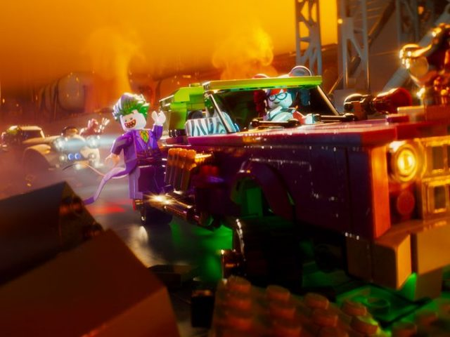 The LEGO Batman Movie - Joker ride