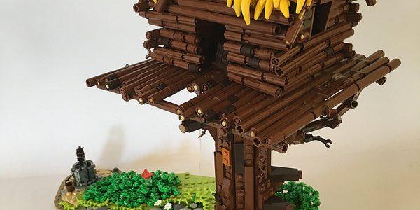 Assurancetourix et les bananes LEGO