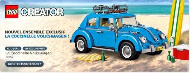 nouveautés LEGO 10252 Volkswagen Beetle
