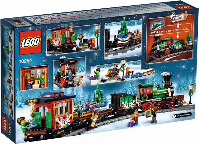 LEGO 10254 Winter Holiday Train back