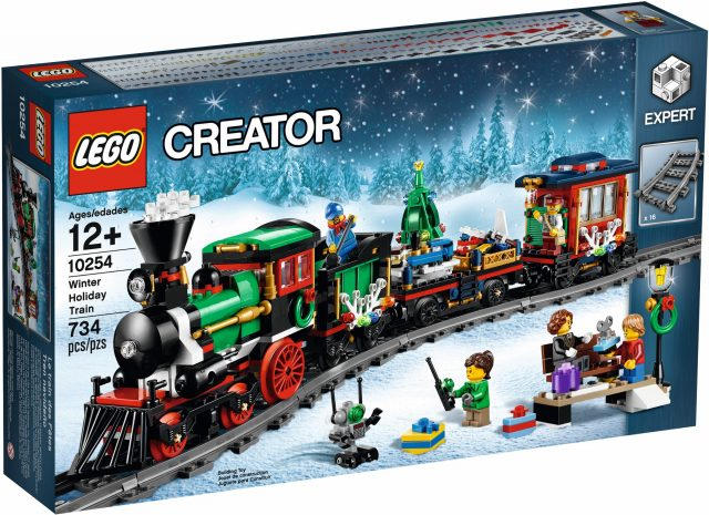 LEGO 10254 Winter Holiday Train box
