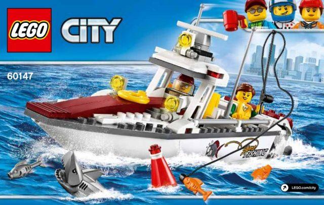 LEGO 60147 Fishing Boat LEGO City 2017