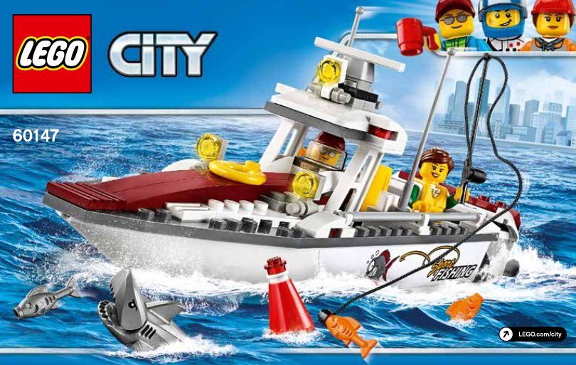 lego 60147 fishing boat premier aper u lego city 2017 hellobricks blog lego. Black Bedroom Furniture Sets. Home Design Ideas