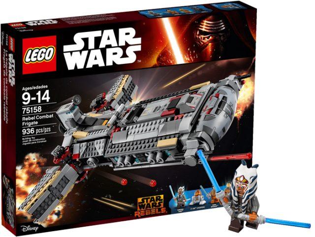 nouveautés LEGO 75158 Rebel Combat Frigate