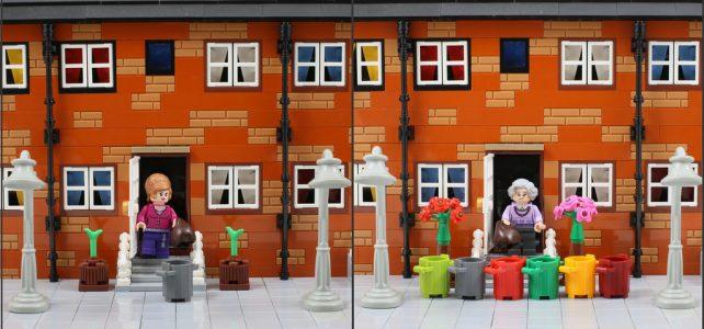 LEGO Avant Après