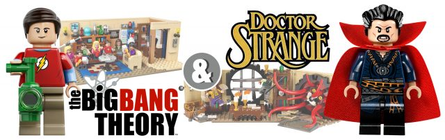 LEGO Doctor Strange & The Big Bang Theory Appartments Compatibility