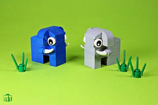 Animaux LEGO Elephant