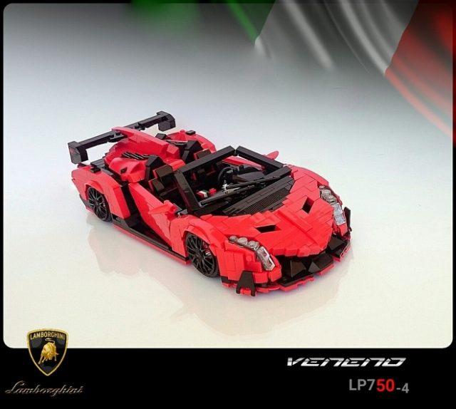 LEGO Ideas Lamborghini Veneno Roadster