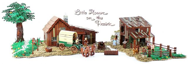 LEGO Ideas Plum Creek La Petite Maison dans la prairie