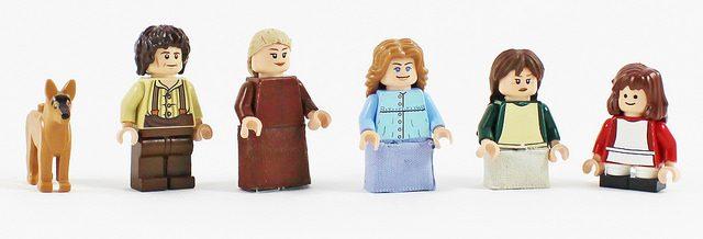 LEGO Ingalls Family