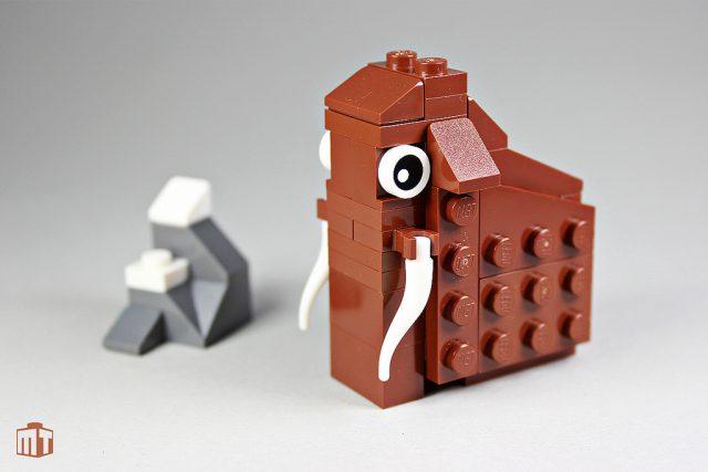 Animal LEGO Mammouth