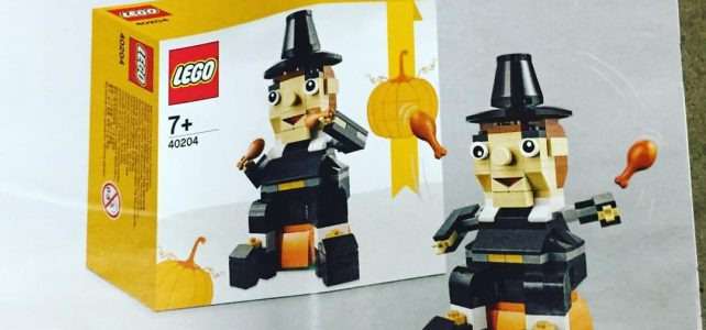 LEGO Seasonal 40204 Thanksgiving Pilgrim