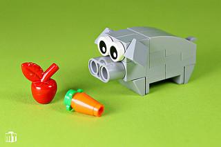 LEGO cochon