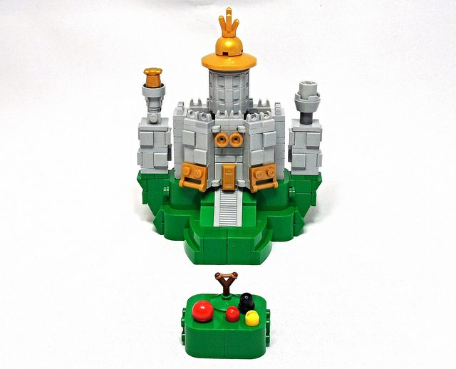 Micro LEGO Angry Birds