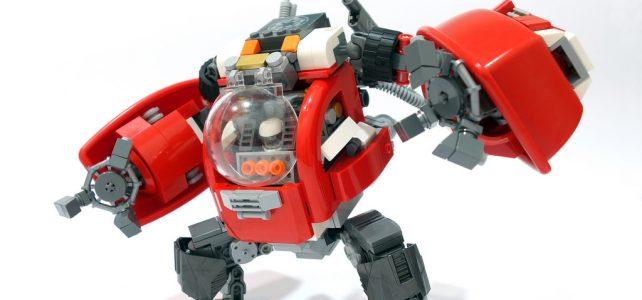 Mix DUPLO et LEGO robot