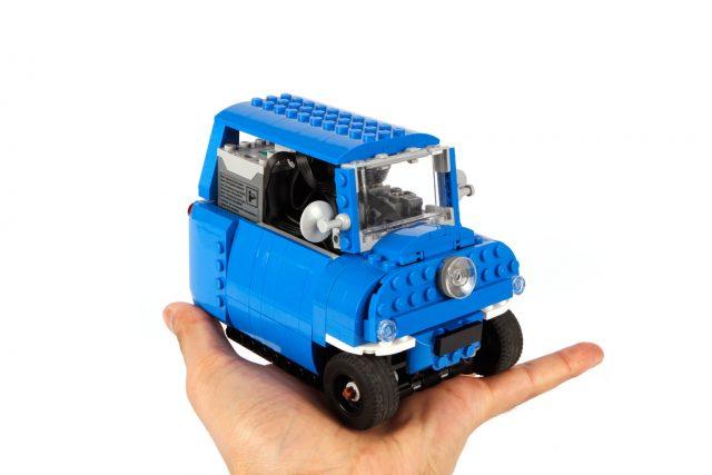 Peel P50, la plus petite voiture du monde