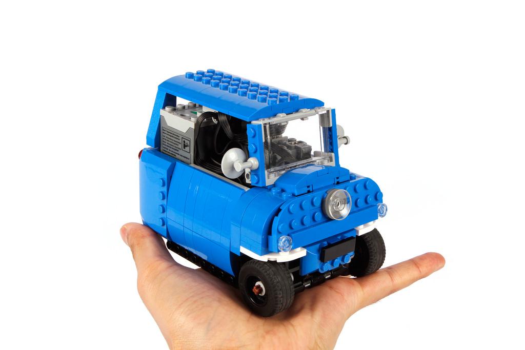 Très Peel P50, la plus petite voiture du monde - HelloBricks | Blog LEGO HW48
