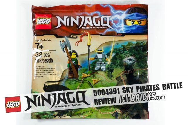Review LEGO 5004391 Ninjago Sky Pirates Battle