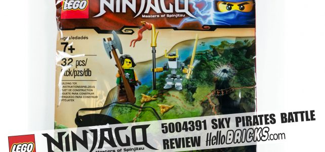 Review LEGO Ninjago 5004391 Sky Pirates Battle
