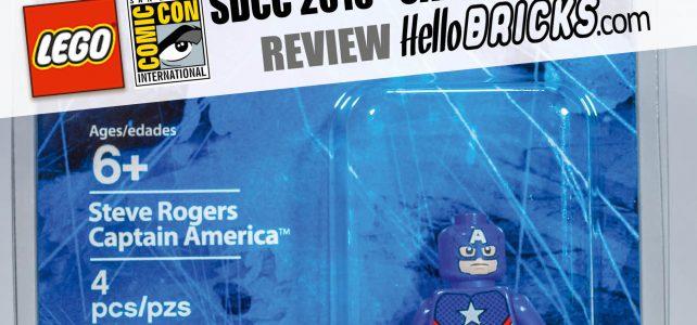 Review Lego SDCC 2016 Captain America